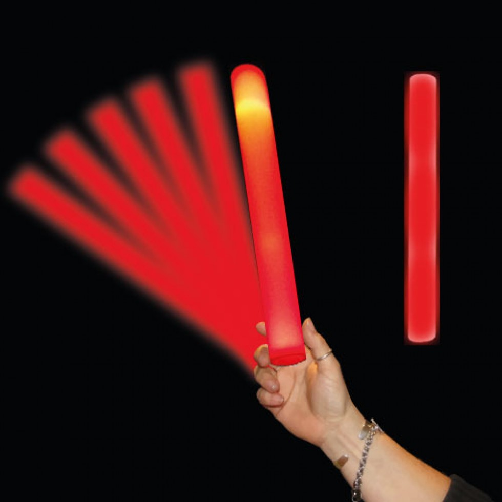 Led Foam Stick Red